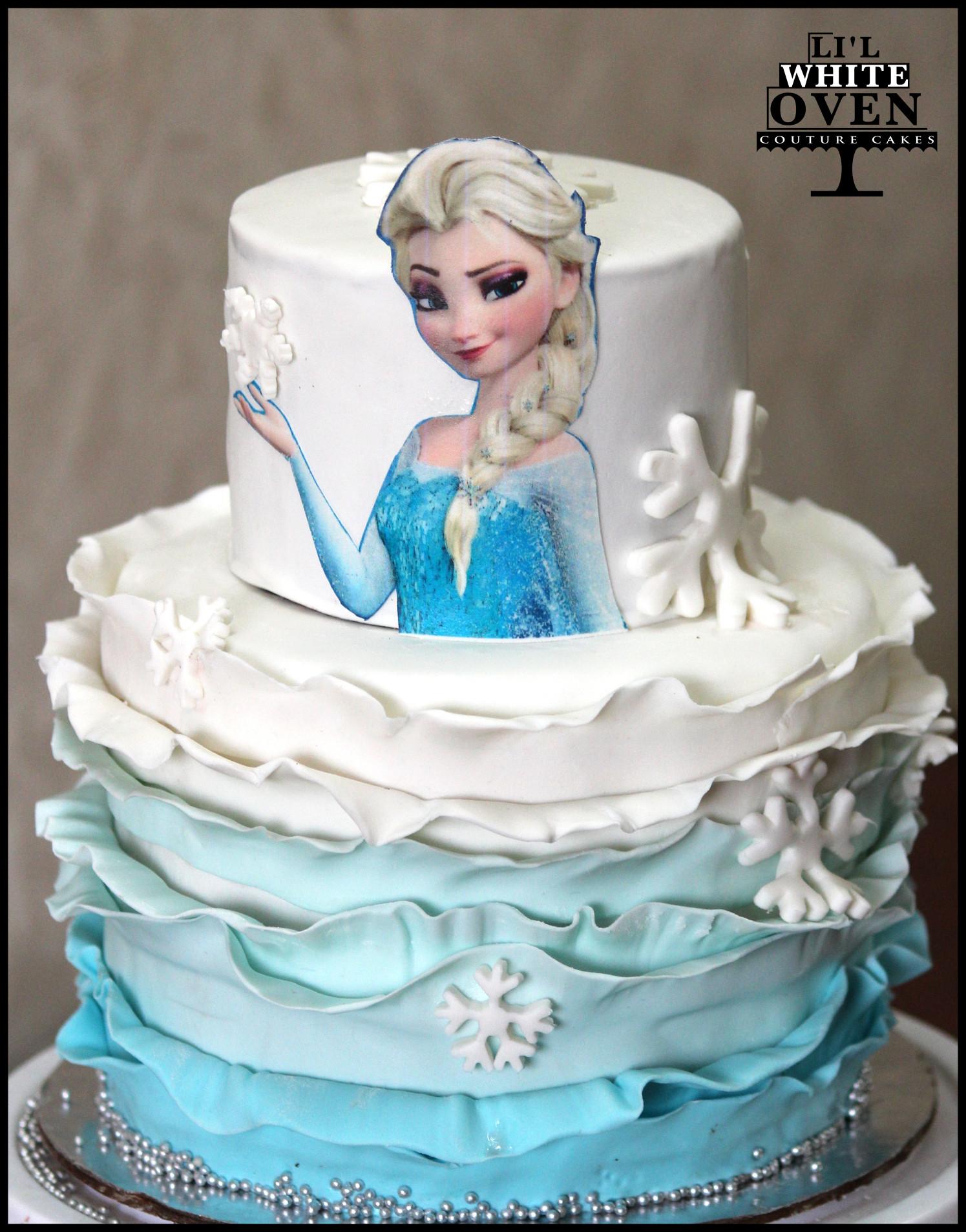 Frozen Birthday Cake  Birthday Cakes in Mumbai – Li l White Oven