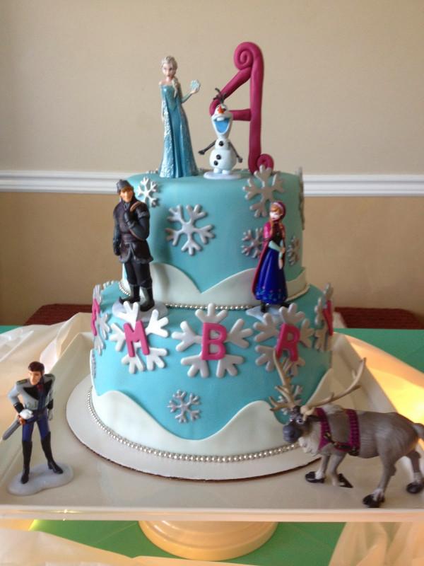 Frozen Birthday Cake  Sugar Love Cake Design March 2014