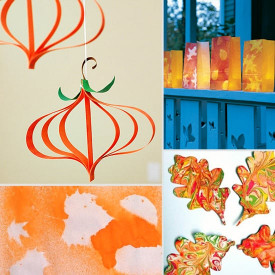 Fun Arts And Crafts For Kids  Fall Arts and Crafts For Kids