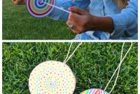 Fun Arts and Crafts for Kids New Diy Paper Spinner for Endless Fun