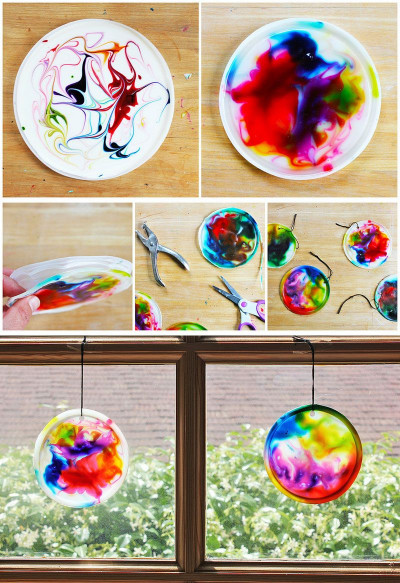 Fun Craft Ideas For Kids  Best 25 Kids suncatcher craft ideas on Pinterest