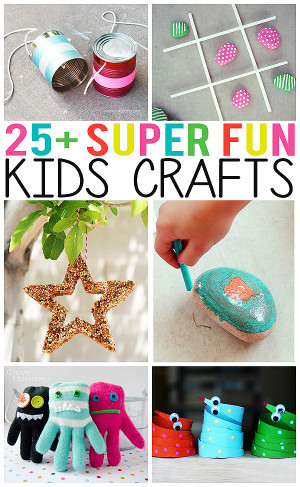 Fun Craft Ideas For Kids  25 Super Fun Kids Crafts Eighteen25