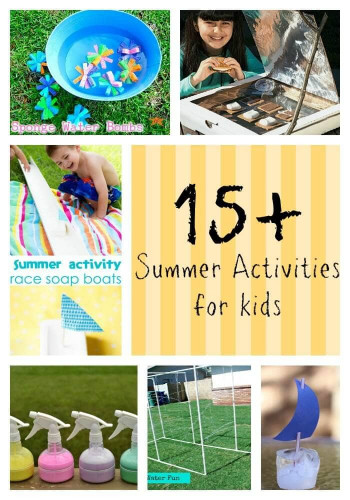 Fun DIYs For Kids  15 Summer Activities for Kids I Heart Nap Time