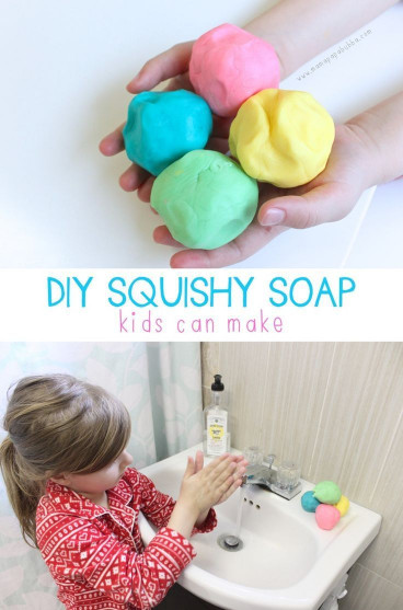 Fun DIYs For Kids  DIY Squishy Soap Kids Can Make