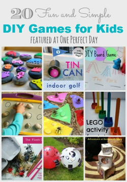 Fun DIYs For Kids  Easy Homemade Matching Game make it anywhere