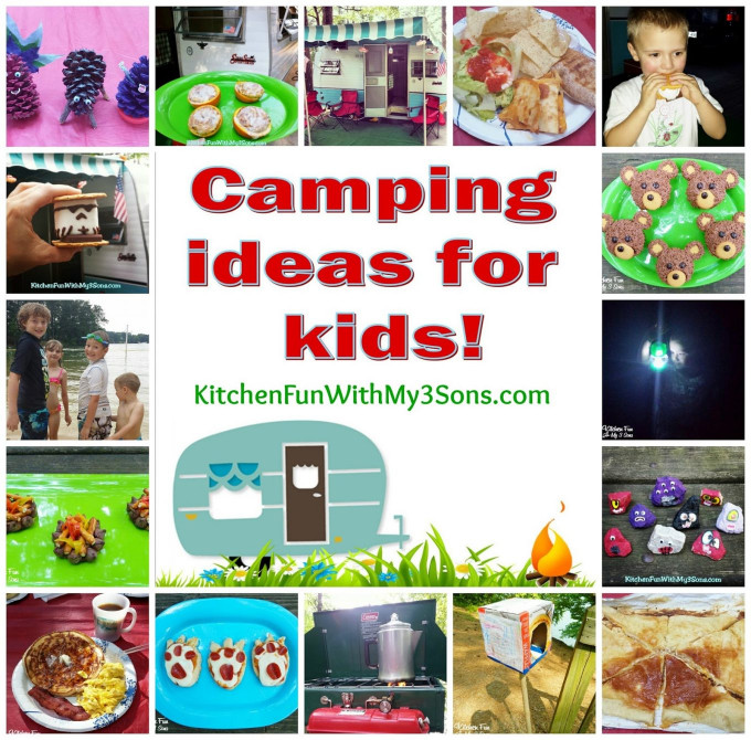 Fun Ideas For Kids  Camping fun food & craft ideas for kids and our McKinney