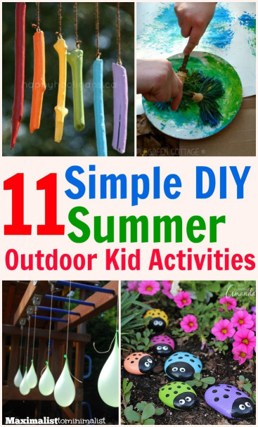 Fun Ideas For Kids  11 Kid s Outdoor Activities That Are Simple Frugal and