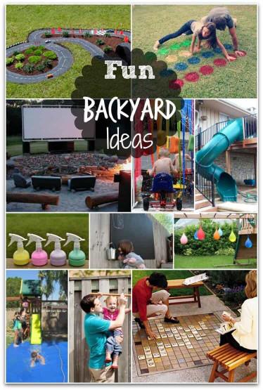 Fun Ideas For Kids  Fun Backyard Ideas these DIY ideas will make summertime
