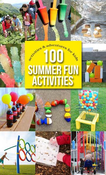 Fun Ideas For Kids  338 best Summertime Lesson Plans images on Pinterest