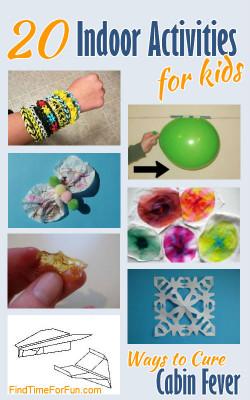 Fun Ideas For Kids  Fun at Home