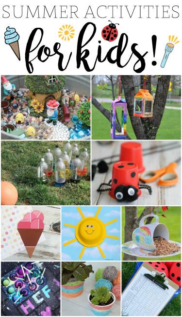 Fun Ideas For Kids  Fun Summer Activities for Kids