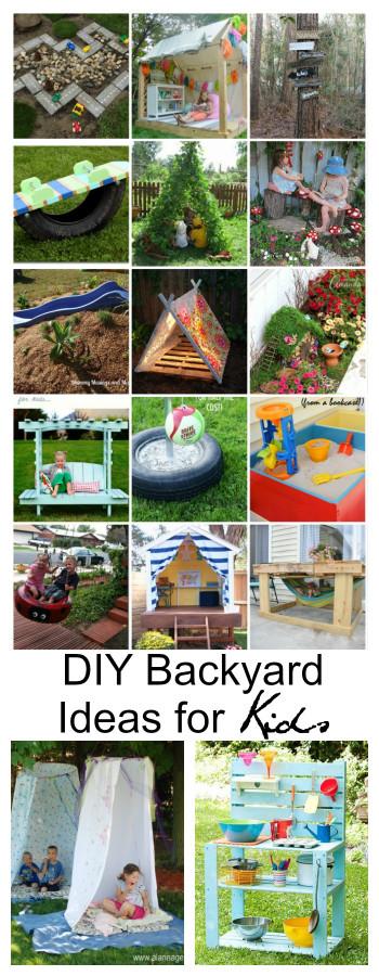 Fun Ideas For Kids  DIY Backyard Ideas for Kids The Idea Room