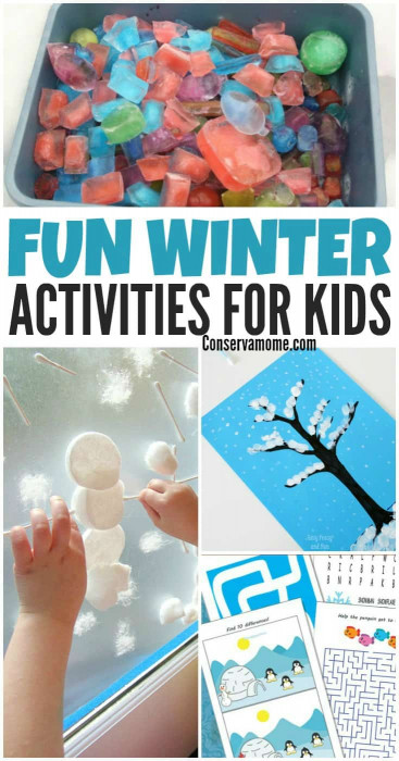 Fun Ideas For Kids  Fun Winter Activities for Kids ConservaMom