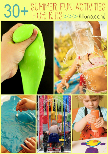 Fun Ideas For Kids  30 summer activities for kids