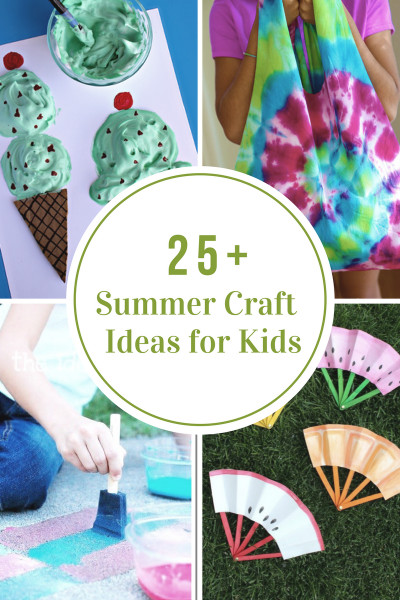 Fun Kids Crafts  40 Creative Summer Crafts for Kids That Are Really Fun