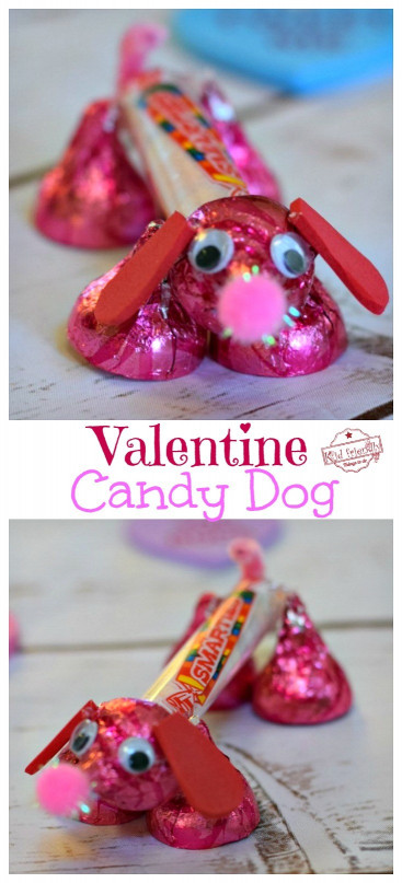 Fun Kids Crafts  Make A Valentine s Candy Dog for a Fun Kid s Craft and Treat