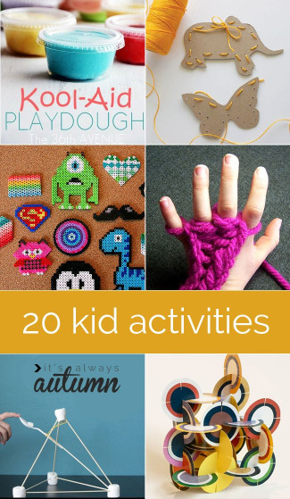 Fun Kids Crafts  Indoor Crafts on Pinterest