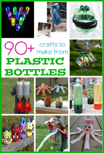 Fun Kids Crafts  90 Plastic Bottle Crafts for Kids