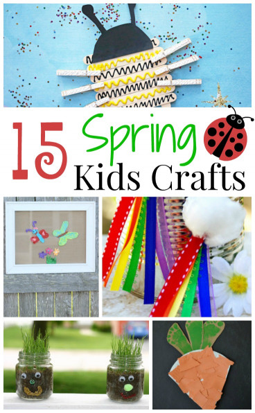 Fun Kids Crafts  15 Fun Spring Kids Crafts