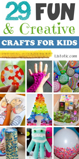 Fun Projects For Kids  29 The BEST Crafts For Kids To Make projects for boys