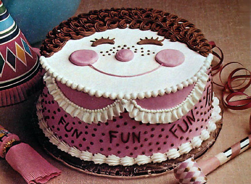 Funny Birthday Cakes  Cake Smiley Face Funny Image