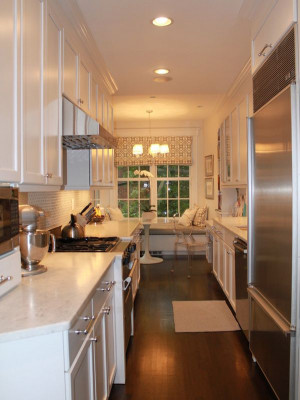Galley Kitchen Designs  Form AND Function in a Galley Kitchen