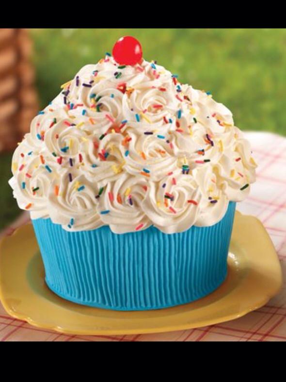 Giant Birthday Cake  GIANT CUPCAKE AWESOMENESS