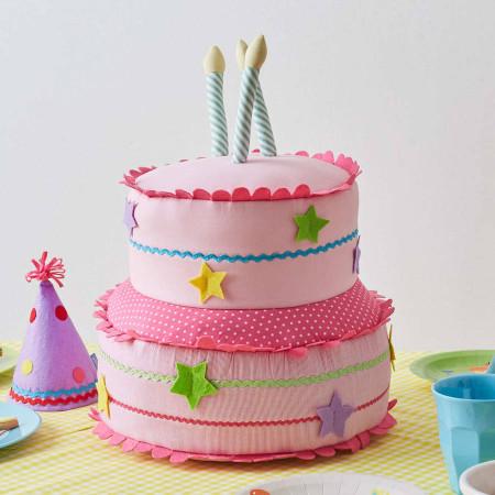 Giant Birthday Cake  giant soft toy cake by albetta