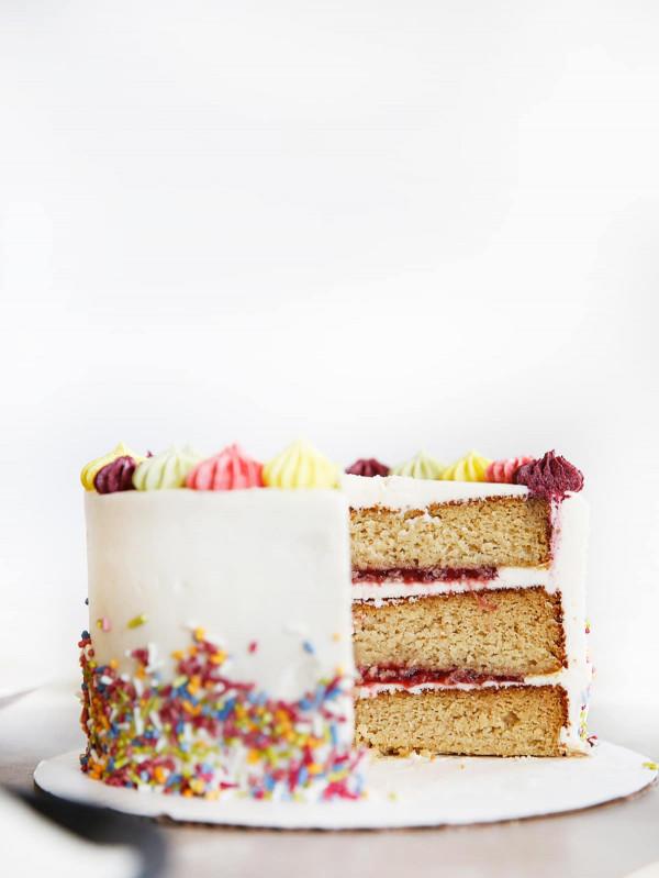 Gluten Free Birthday Cake  The BEST Gluten Free Layer Birthday Cake Lexi s Clean