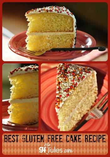 Gluten Free Birthday Cake  Best Gluten Free Cake Recipe gfJules