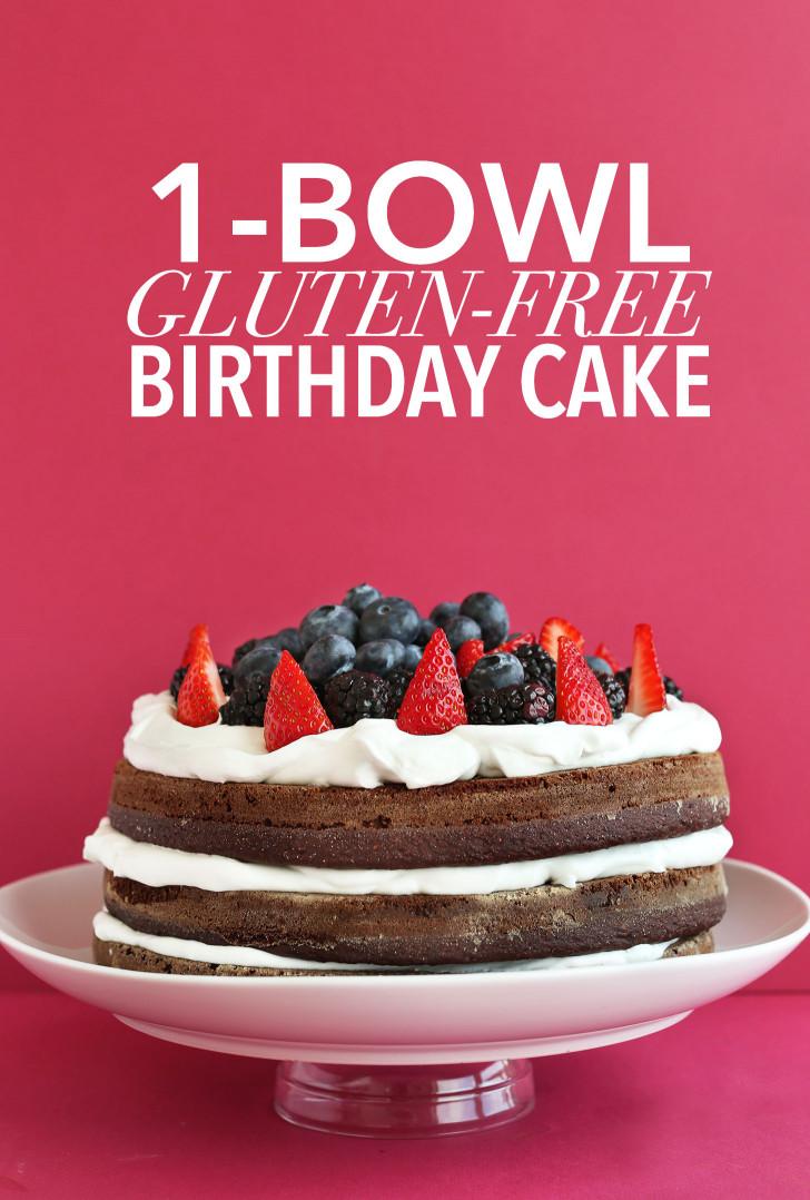 Gluten Free Birthday Cake  Gluten Free Birthday Cake