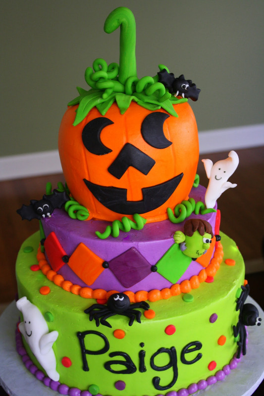 Halloween Birthday Cake  Claudine Halloween Weekend