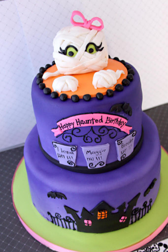 Halloween Birthday Cake  13 Ghoulishly Festive Halloween Birthday Cakes Southern