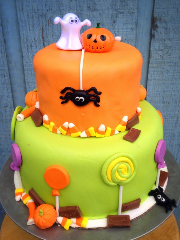 Halloween Birthday Cake  Cakes and Cookies
