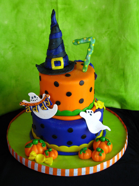 Halloween Birthday Cake  Halloween Birthday Cake CakeCentral