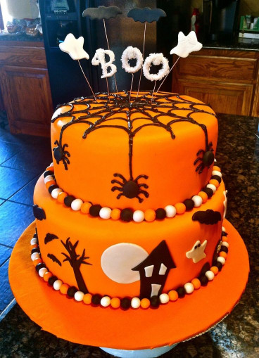 Halloween Birthday Cake  1000 images about Halloween Cakes on Pinterest