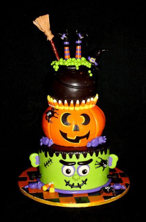 Halloween Birthday Cake  Halloween Cake Ideas The Xerxes