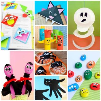 Halloween Craft Ideas For Kids  25 Halloween Crafts for Kids Art and Craft Tutorials