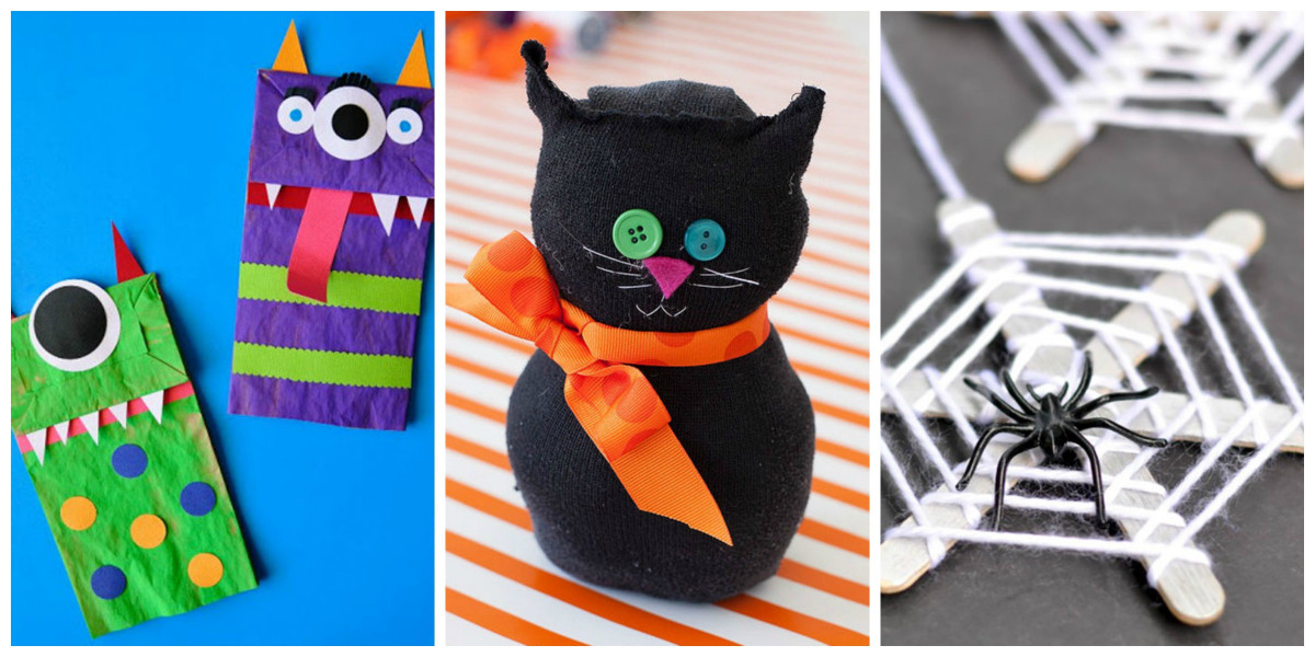 Halloween Craft Ideas For Kids  26 Easy Halloween Crafts for Kids Best Family Halloween