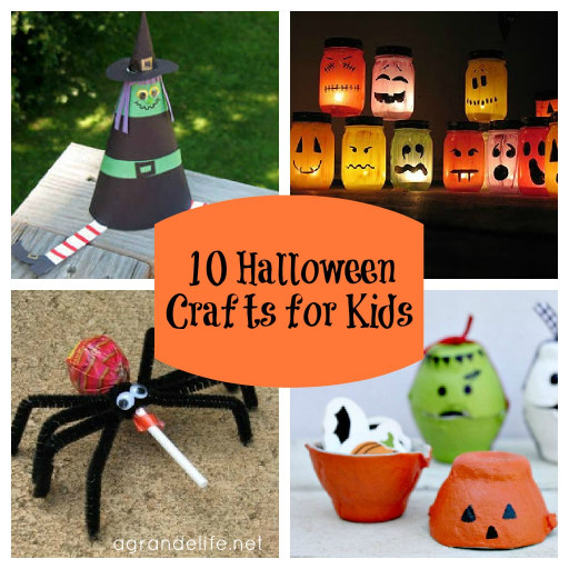 Halloween Craft Ideas For Kids  10 Halloween Crafts for Kids
