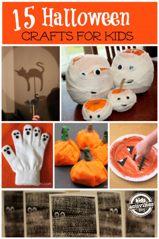 Halloween Craft Ideas For Kids  Easy Halloween Crafts for Kids