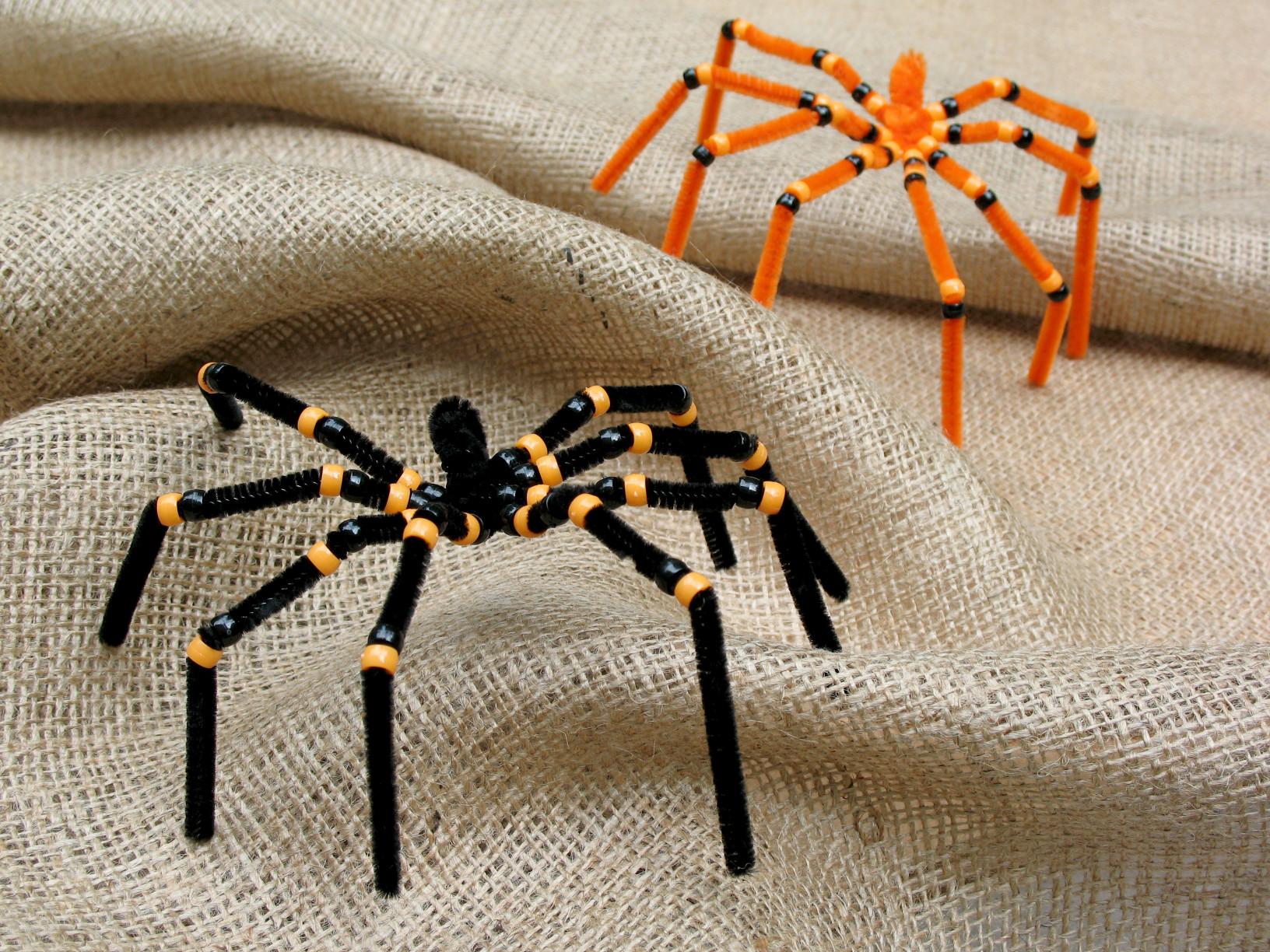 Halloween Craft Ideas For Kids  Preschool Crafts for Kids Halloween Spider Pipe Cleaner