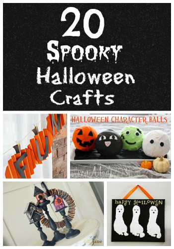 Halloween Craft Ideas For Kids  Life With 4 Boys 20 Halloween Craft Ideas for Kids