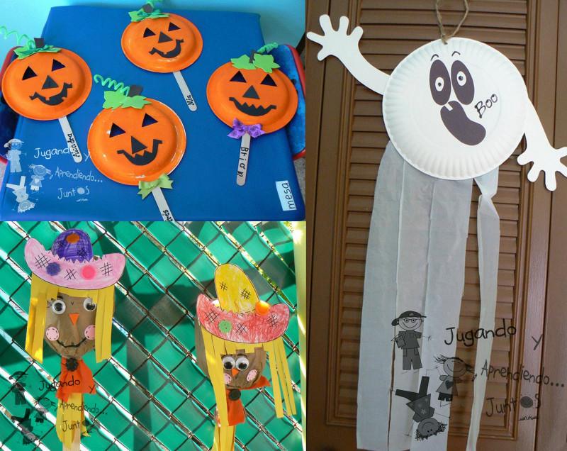 Halloween Craft Ideas For Kids  Valentine e Halloween Crafts For Kids