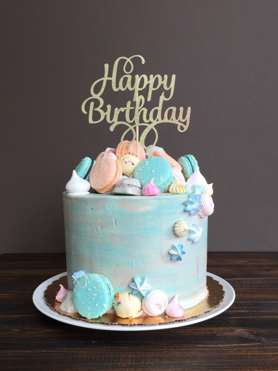 Happy Birthday Cake  Cake topper Happy Birthday cake topper birthday cake