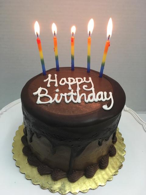 Happy Birthday Cake  Mail Order Chocolate Birthday Cake line