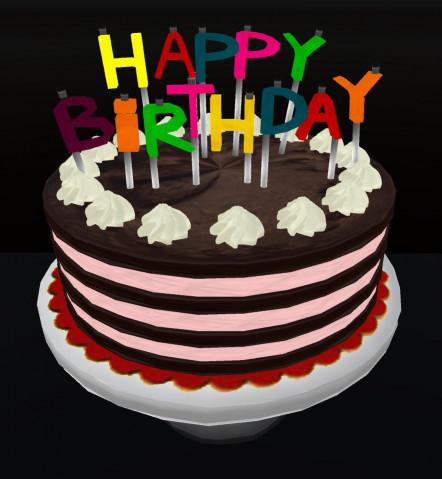 Happy Birthday Cake  ArsVivendi Happy Birthday Cake