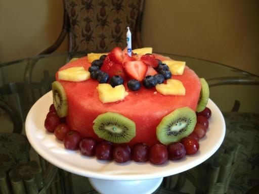 Healthy Birthday Cake  Healthy birthday cake Yummy
