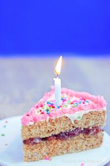 Healthy Birthday Cake  Healthy Birthday Cake