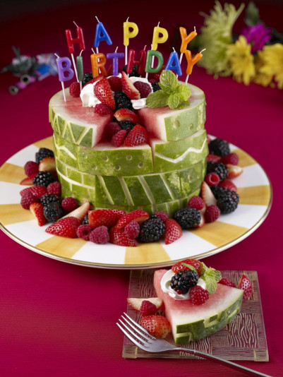 Healthy Birthday Cake Luxury It S Written On the Wall Watermelon A Teapot Birthday